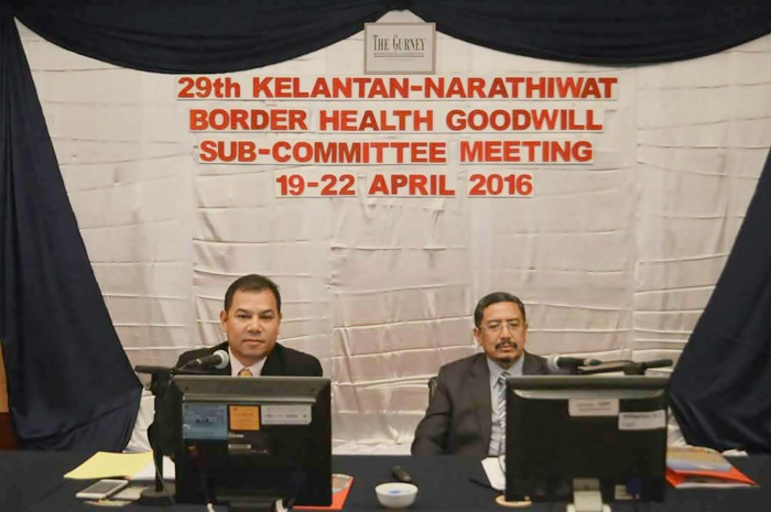 Second 29th Kelantan-Narathiwat Border Health Goodwill Subcommittee Meeting 2016