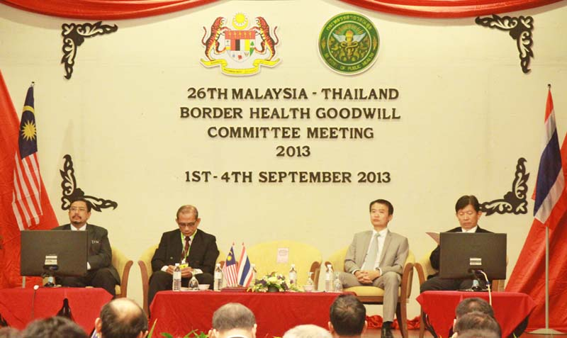 26th Malaysia-Thailand Border Health Goodwill Meeting
